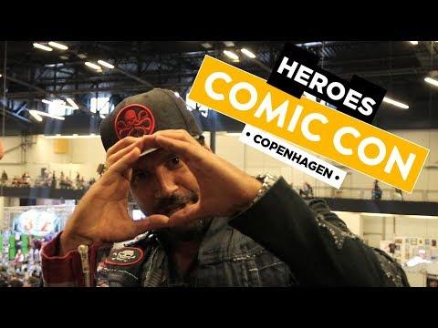 Interview Manu Bennett | Comic Con Copenhagen