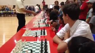 Video Five-time FIDE World Chess Champion plays exhibition match with 50 Singapore students download MP3, 3GP, MP4, WEBM, AVI, FLV Desember 2017