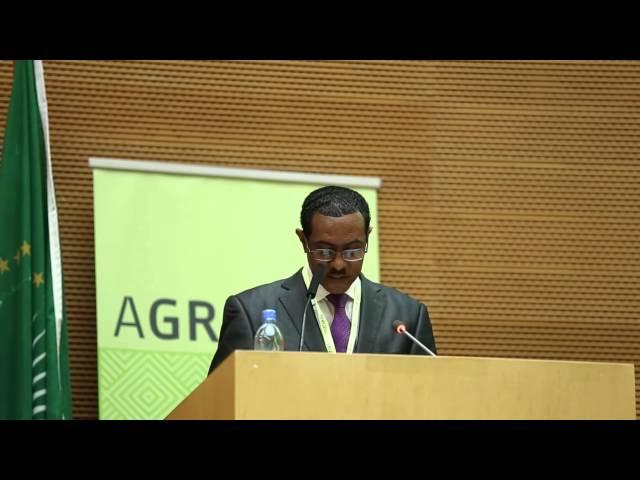 AGRF 2014 - H. E. Ato Tefera Deribew, Minister of Agriculture, Ethiopia