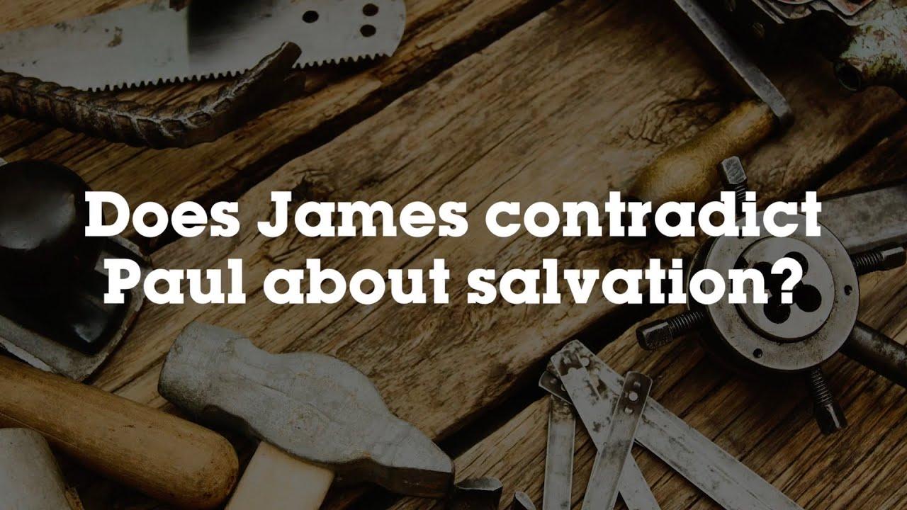 Czy Jakub zaprzecza Pawłowi?