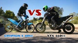 Crypton X 289cc VS XTX 660cc