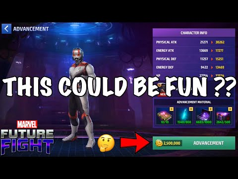 FLEXING WITH MY LITTLE BIG ANTMAN (AVENGERS ENDGAME)   Marvel Future Fight