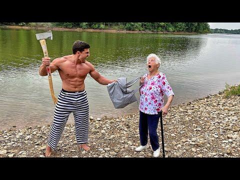 Grandma's Self Defense Class #3   Ross Smith ft. Houston Jones