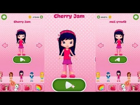 CHERRY JAM/New Record/Strawberry shortcake Berry Rush Gameplay makeover for kid. Ep.41