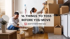 16 Things To Toss Before You Move | Apartment Therapy