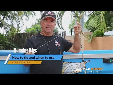 Fishing Rigs: Tie A Running Rig Plus WHEN To Use It.