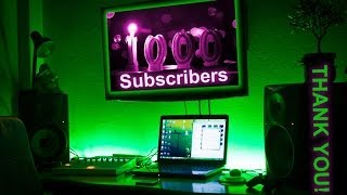 1000 Subscribers THANK YOU!  (FREE DOWNLOAD)