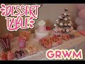 GRWM: Pink and White Dessert Table // AnalynnMarie