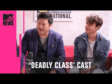 Benedict Wong & &x2018Dead;ly Class' Cast on Adapting the Graphic Novel  MTV