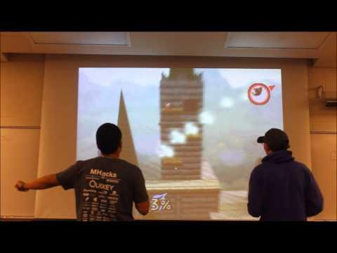 MHacks 4 Super Smash Bros. 64 Kinect Control