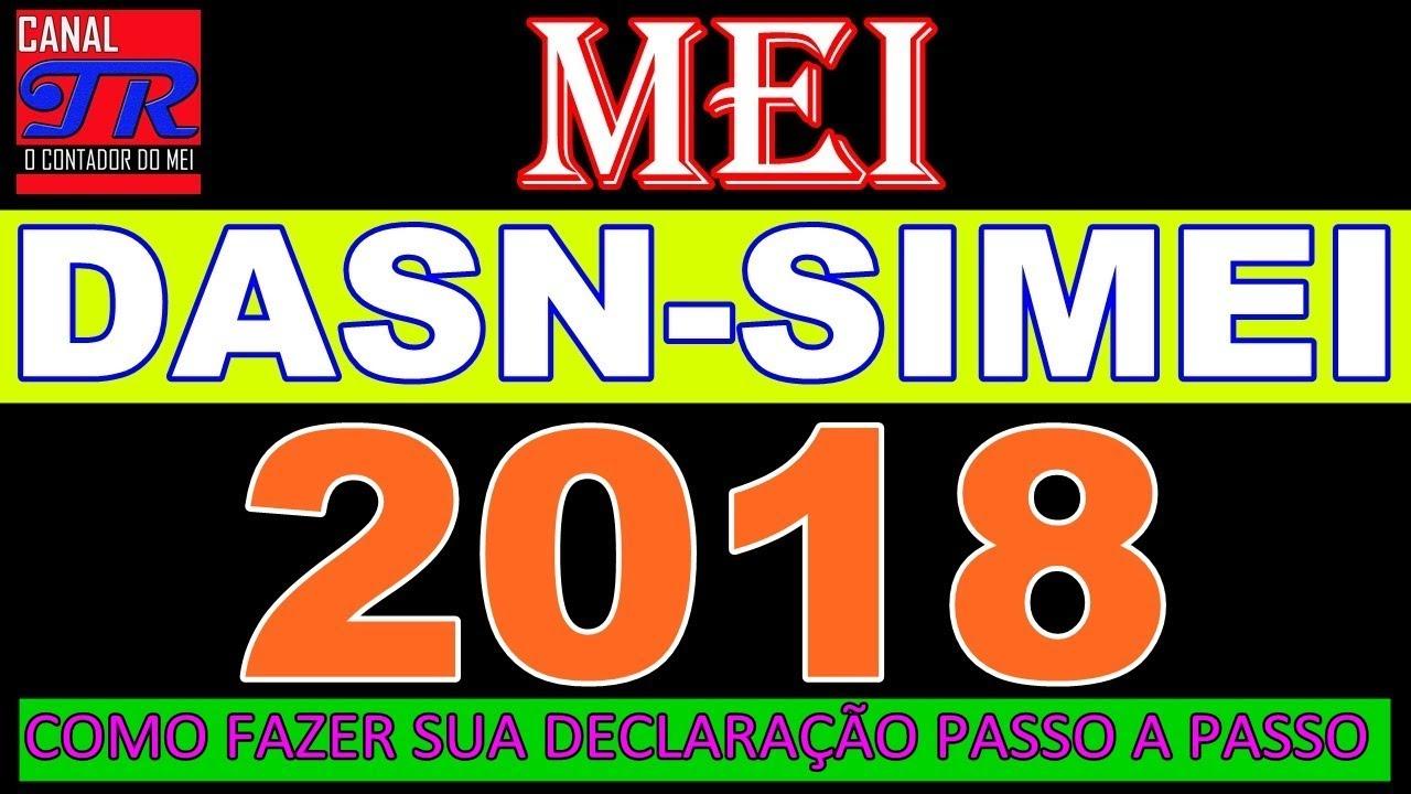 Mei Como Fazer Declaração Anual Simplificada 2018 Dasn