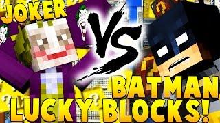 BATMAN VS JOKER BANK ROBBERY Minecraft SuperHero Mod Challenge