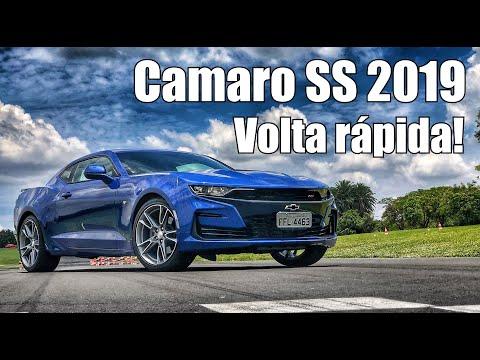 Chevrolet Camaro SS 2019 volta rápida - Falando de Carro