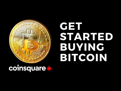 How To Get Started Buying Bitcoin Using CoinSquare In Canada