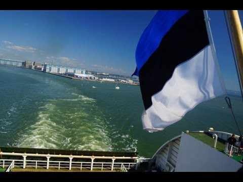 Ferry Cruise ride from Helsinki, Finland to Tallinn, Estonia on board Tallink Cilja MS Star