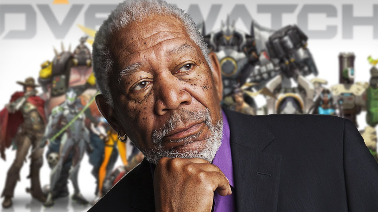 overwatch being played by someone who sounds like morgan freeman