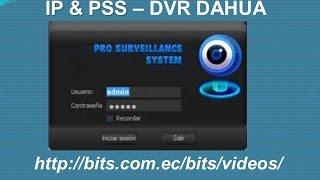 03 PSS Dahua - colocar la IP