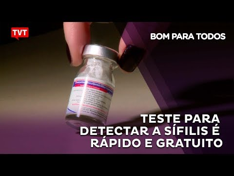 As chances de cura aumentam se a Sífilis for diagnosticada precocemente