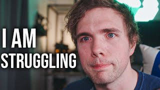 my dad is on a breathing machine and I'm struggling to focus | #grindreel