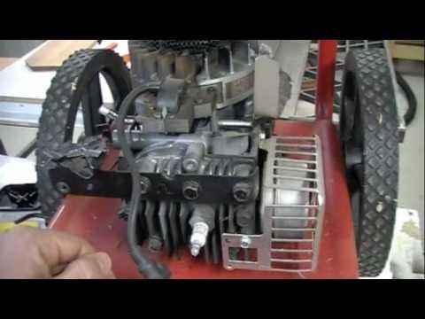 Briggs Amp Stratton Carb Install Troy Bilt Youtube