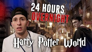 24 HOUR OVERNIGHT IN HARRY POTTER WORLD (GONE WRONG)
