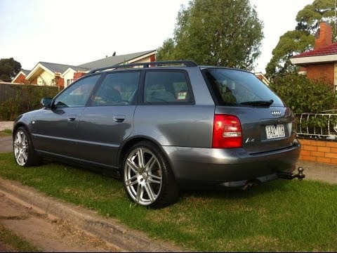 Audi A4 Avant B5 18 Turbo With 19 Rs4 Alloy Wheels Youtube