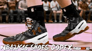 NBA2K16 [CODEX] ~ MyCareer Shoes ~ Limnono's Modifier