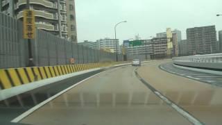 北九州都市高速道路1号 九州道・小倉東IC→小倉駅北口出口 等速版