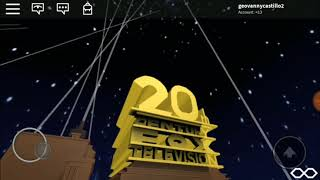If 20th Century Fox Television has an opening logo..(Roblox Style)