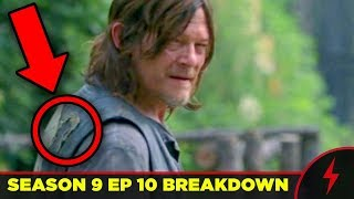 WALKING DEAD 9x10 BREAKDOWN - Details You Missed!
