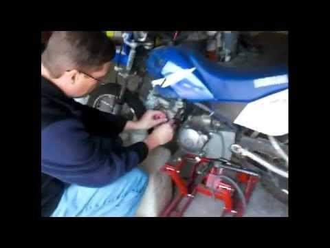 TTR90 Carb Fix  YouTube