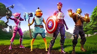 NEW Fortnite AVENGERS ENDGAME Game Mode!  (Fortnite Battle Royale Endgame LTM)