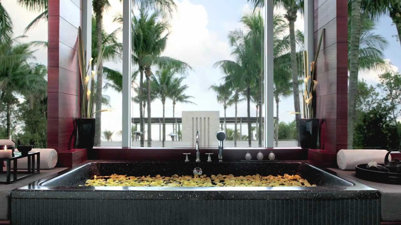 The setai • miami • luxury hotel youtube