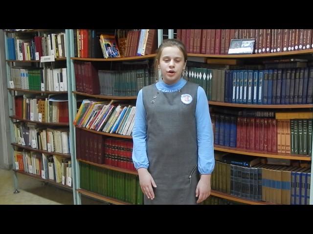 Изображение предпросмотра прочтения – ЕлизаветаСтарикова читает произведение «Свинья под дубом» И.А.Крылова