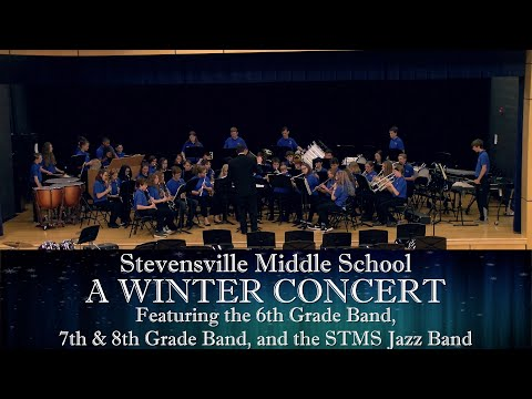 Stevensville Middle School: A Winter Concert 2019