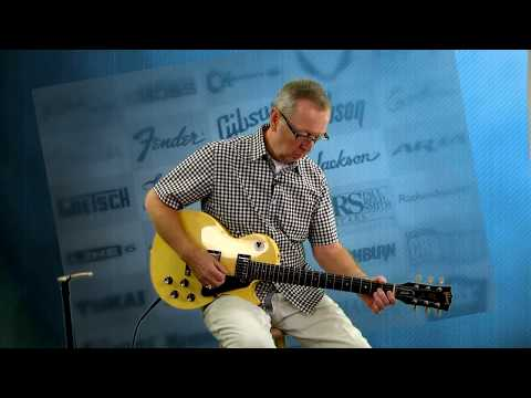 1987 Gibson LP Studio Yellow'd