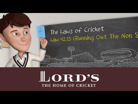 Running out the non-striker | The Laws of Cricket with Stephen Fry