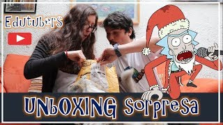 Intercambio de Youtubers | Unboxing Navideño