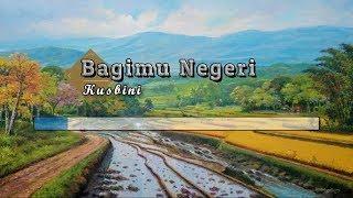 Gambar cover [Karaoke] 🎵 Kusbini - Bagimu Negeri (Padamu Negeri) 🎵 +Lirik Lagu [PIANO]
