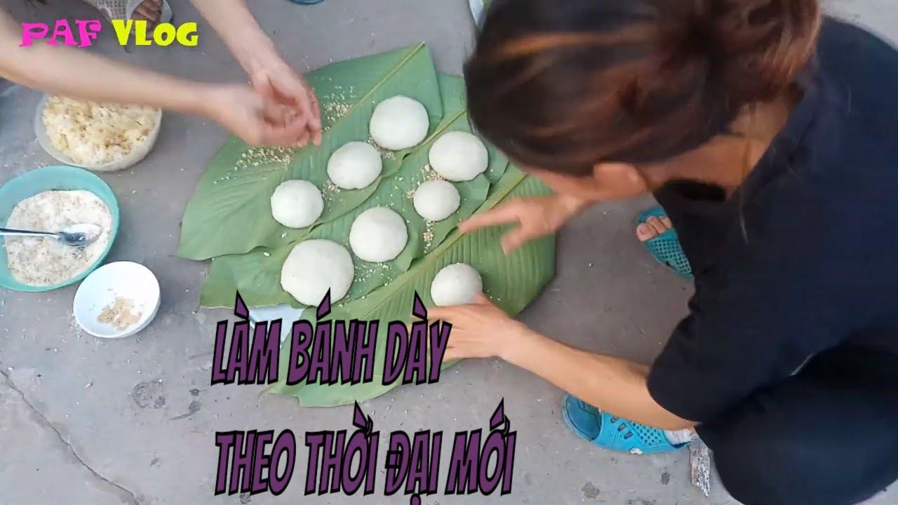 học làm bánh giầy  theo cách của người tày | learn to make traditional shoemaking like the Tay