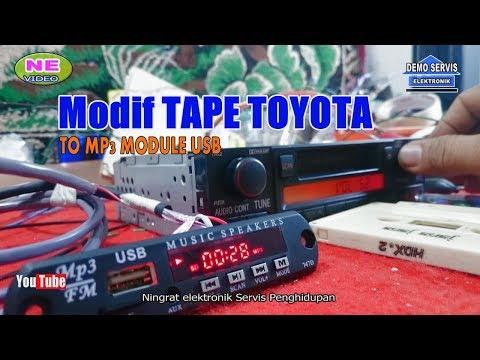 Modif TAPE TOYOTA to MP3 module video ke 57