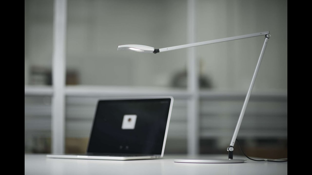 NEW Koncept Mosso Pro LED Desk Light Qi Wireless Charger Capable – Koncept Desk Lamp
