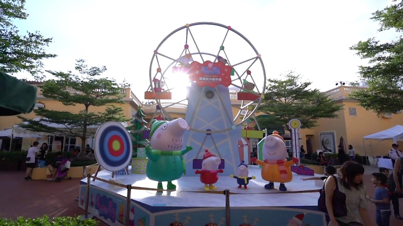 Gold Coast Piazza Peppa Pig Christmas Carnival Review