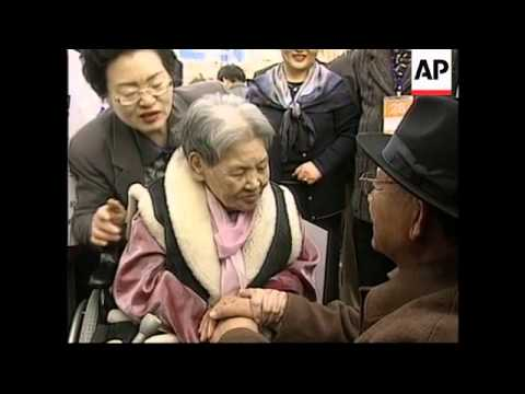 SOUTH KOREA: KOREAS REUNION