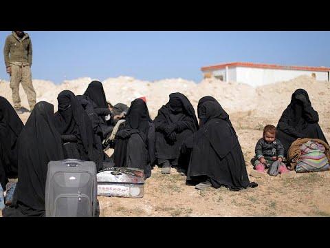 قوات سوريا الديمقراطية: إجلاء مدنيين من آخر معقل لتنظيم الدولة الإسلامية…