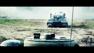 Отрывок из фильма Белый тигр 2012, Тигр против танков Т 34