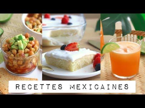 3-recettes-mexicaines-vegan-|-gâteau-tres-leches,-agua-fresca,-coctel