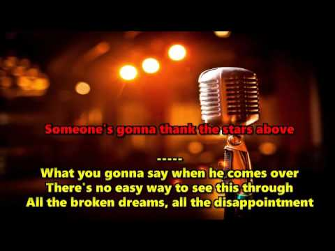 The One You Love-Glenn Frey KARAOKE