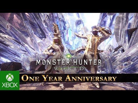 Monster Hunter: World - One Year Anniversary Celebration thumbnail