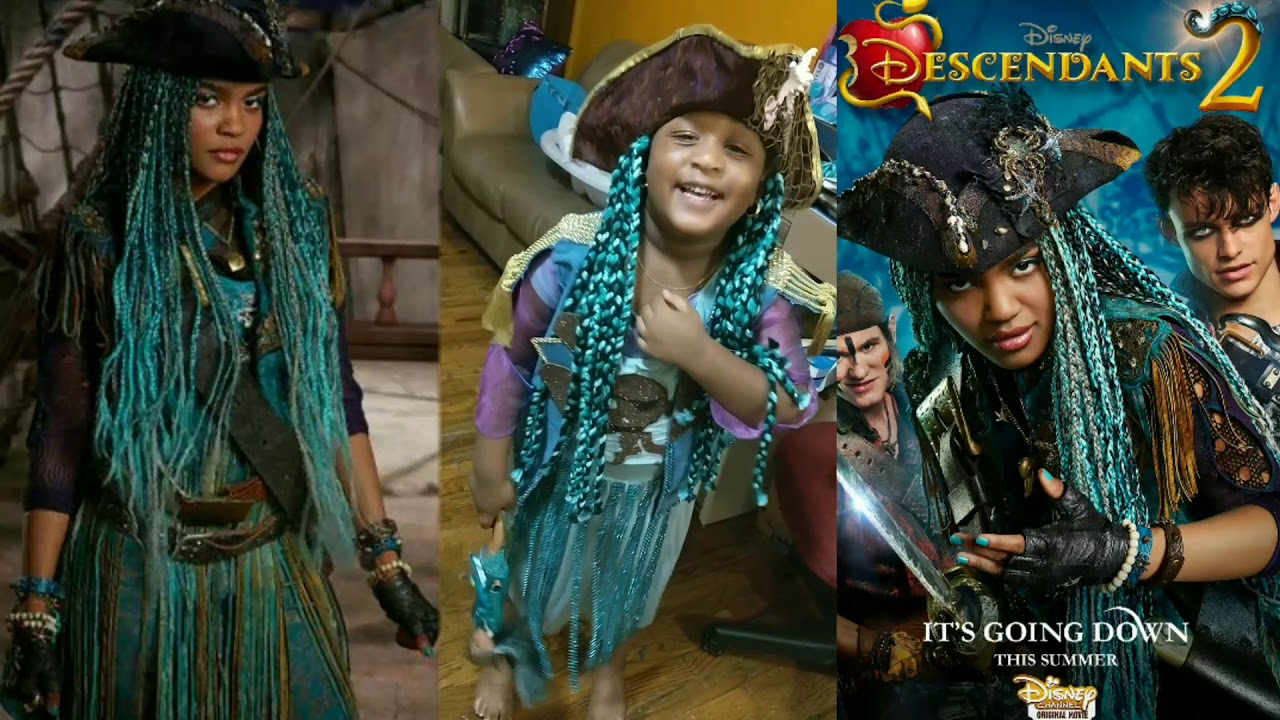 Descendants 2 Uma Halloween Costume !